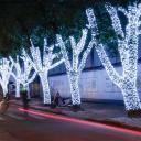 Гирлянда на деревья Клип Лайт Спайдер, 3 нити по 20м, 600 LED, 24V