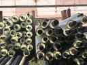 Стальная труба в ППУ изоляции в ПЭ оболочке д=76х3,5/160 мм