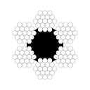 Канат грузолюдской лифтовой ГОСТ 3077-80 д.8,8