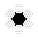 Канат грузолюдской лифтовой ГОСТ 3077-80 д.43,5