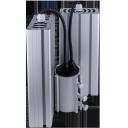 Уличный консольный светодиодный светильник два модуля под углом 96Вт 4000К IP67 13440Лм (VRN-UNE-96D-G40K67-K90)