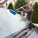 Универсальная щетка для мытья автомобилей с подачей воды