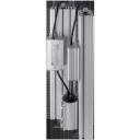 Уличный консольный светодиодный светильник двойной два модуля под углом 192Вт 4000К IP67 26880Лм (VRN-UNE-192D-G40K67-K90)
