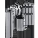 Уличный консольный светодиодный светильник 3 модуля под углом 96Вт 4000К IP67 13440Лм (VRN-UNE-96T-G40K67-K90)