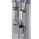 Уличный консольный светодиодный светильник три модуля под углом 288Вт 4000К IP67 40320Лм (VRN-UNE-288T-G40K67-K90)