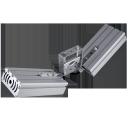 Уличный универсальный (LED) светильник Галочка 64Вт 4000К IP67 8960Лм (VRN-UNE-64D-G40K67-UV)