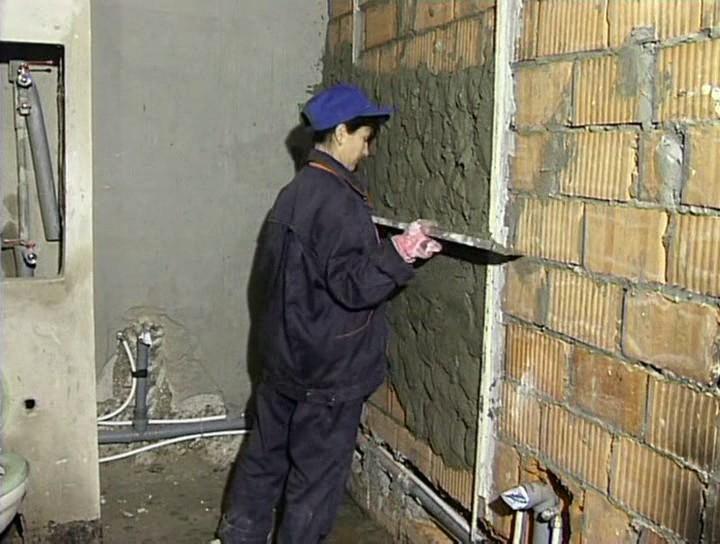 Как правильно штукатурить стены: :: Мечта НН