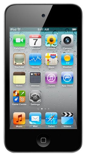 MP3-плеер Apple iPOD TOUCH 4 8Gb Black