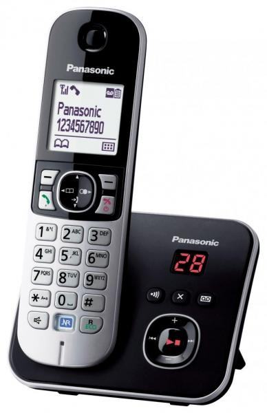 Телефон Panasonic KX-TG6821RUB (DECT, AOН) black