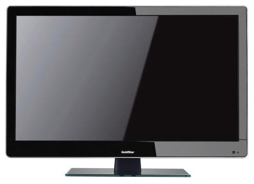 "ЖК телевизор 24"" Goldstar LT-24A300F black LED (5мс, 1920x1080, 250/ m2, 170°, 14000:1, 2х3 Вт)"