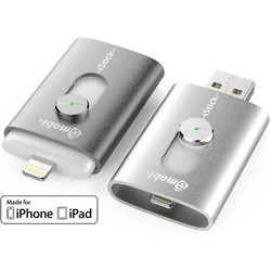 Флэш-накопитель iStick 32Gb для Apple iPhone, iPod Touch и iPad (серебристый)