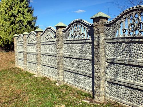 Забор из бетона декоративный купить в как добавить жидкое стекло в цементный раствор для