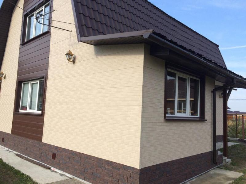 Фасадные панели унипан фото домов